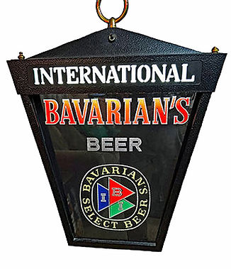 IBI Bavarian's Select Beer Hanging Plastic Sign Sign, Covington, KY.
