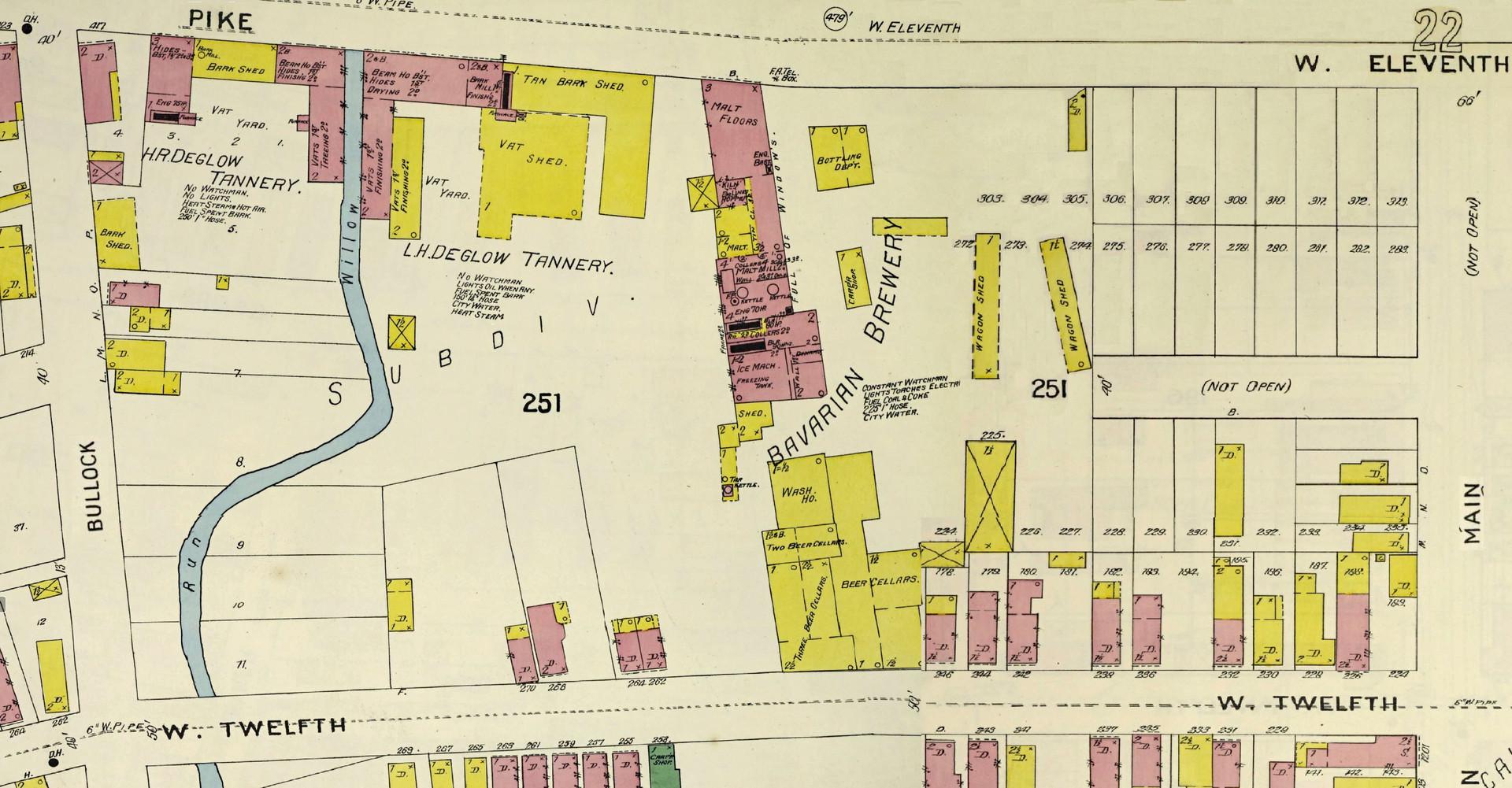 1896 Sanborn Map, Covington, KY Pages 31 & 32.