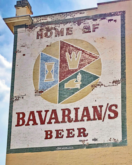 Home of Bavarians Sign by Gus Holthaus 8