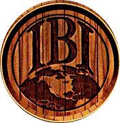 International Breweries Inc. Log on a Barrel Lid
