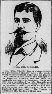 Wm. Riedlin; One of the Men on the Move, in Covington, KY
