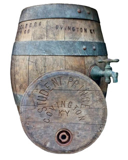Student Prince Wood Beer Barrel, Heidelberg Brewing Co., Covington, KY