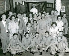 1944  Service Men Women at Bavarian Hi R