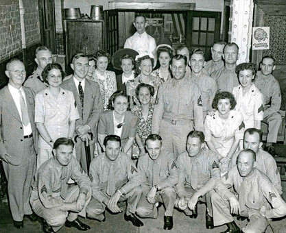 WWII Service Men & Women, Bavarian Brewing Co., Covington, KY