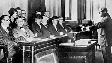 1927. The George Remus Trial and the Jurry, Cincinnati, OH