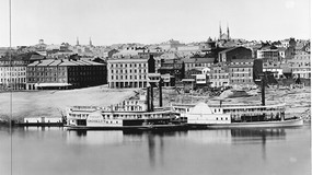 1848. Plate 3, A Daguerreotype View of Cincinnati by Fontayneand Porter from Newport, KY.