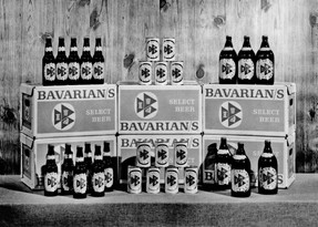 Bavarians Select Display of cases bottle