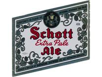 Schott Extra Pale Ale 12 OZ. Ohio Label.