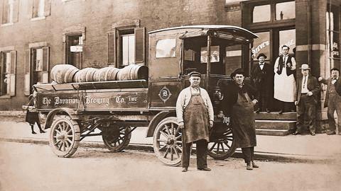 Bavarian Brewing Co. Wilcox Trux at Steve's, Covington, KY.