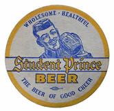 Heidelberg Student Prince Beer Coaster. Heidelberg Brewing Co., Covington, KY.