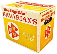 Bavarian's Select Big Six Quart Case, Bavarian Brewing Co., Covington, KY