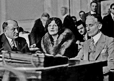 1927. The Murder Trial of George Remus, Cincinnati, OH