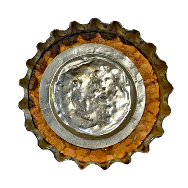 Crown, Cork Lined with Fluted Metal