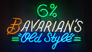 Bavarian's Old Style Neon 6% Sign, Covington, KY.