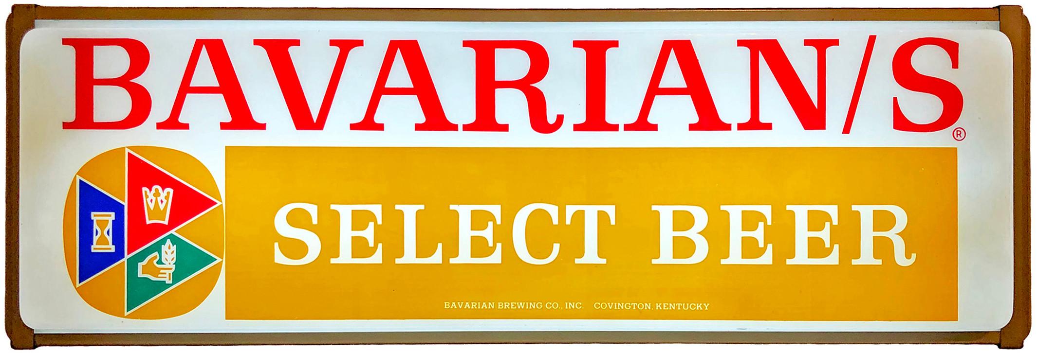 Bavarians Select Sign dark tan bottom ba