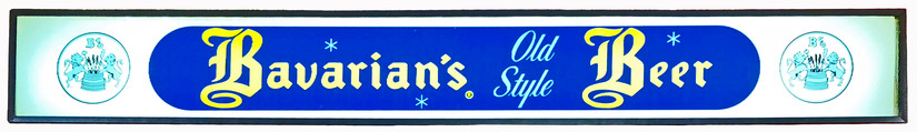 Bavarian's Old Style Beer with Stars & Trademark, Bavarian Brewing Co., Covington, KY.