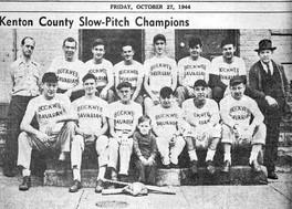 1944 Bochweg Bavarian Slow-Ptich Champions, Kenton Co., KY