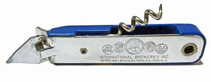 MULITPURPOSE OPENER from International Breweries Inc. (IBI) v. 1958