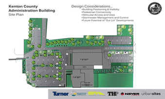 New Kenton County Administration Building Site Plan, Covington, KY