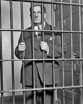 Geroge Remus Behind Bars, c 1925pg