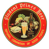 Student Prince Round Sign. Heidelberg Brewing Co., Covington, KY.