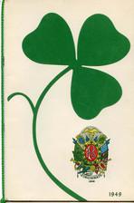 Friendly Sons of St. Patricks, Cincinnati, OH Annual Banquet Program Cover 1949.