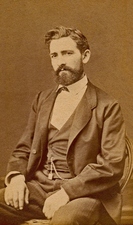 William Riedlin Sr., c. 1875.