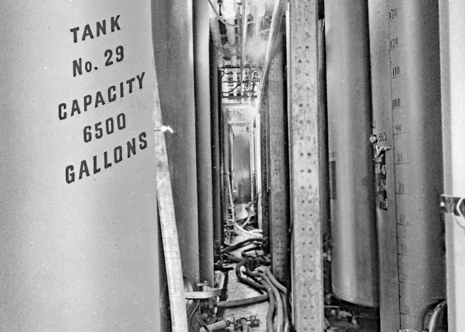 Storage Celler, Bavarian Brewing Co., Covington, KY.