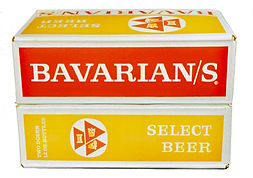 Bavarian's Select Beer Case, Bavarian Brewing Co., Covington, KY 1957.