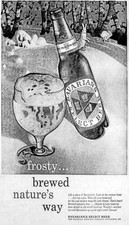 BAVARIAN'S SELECT BEER AD: Frosty...brewed nature's way.