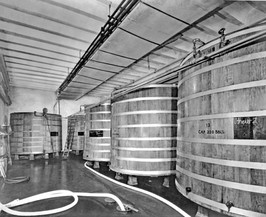 Fermentation Tanks, Bavarian Brewing Co., Covington, KY 1940s