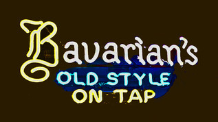 Bavarian's Old Style On Tap Neon Sign, Covington, KY.