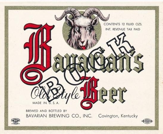 Bavarians Old Style Bock Beer 1946 - 195