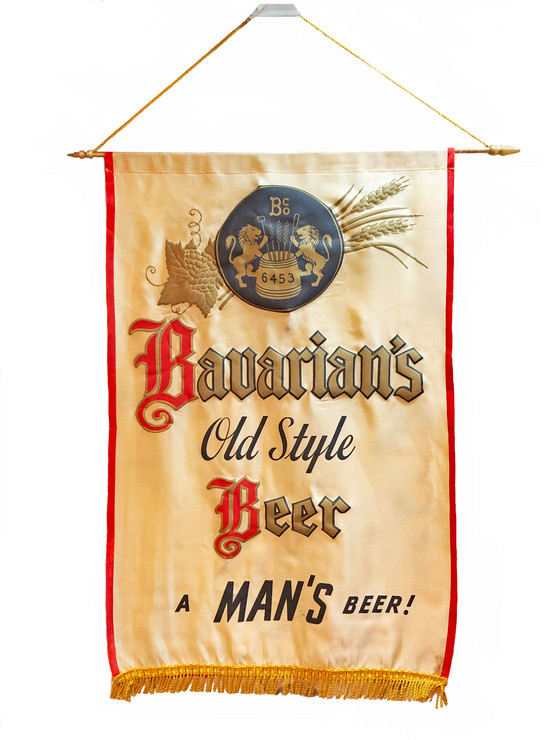 Bavarian's Old Style Beer Banner, Covington, KY