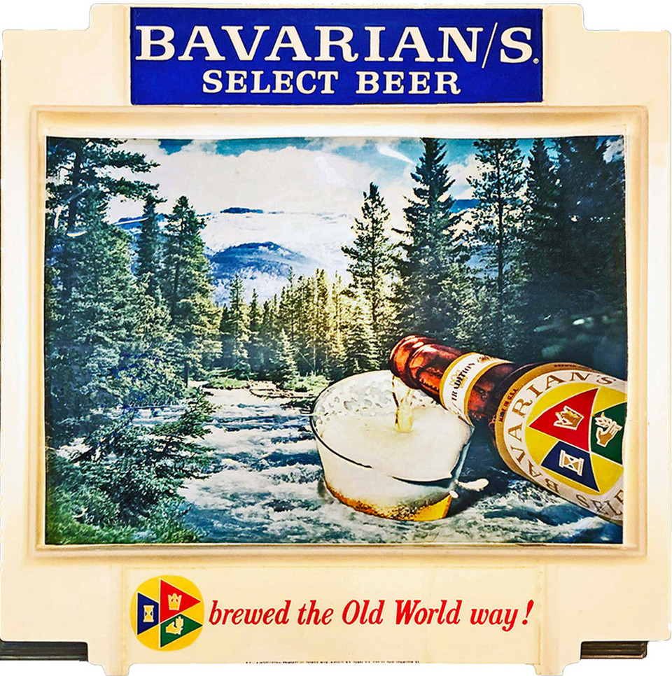 Bavarian Select Outdoor Scene lighted Si