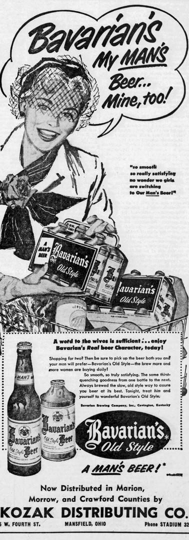 1954-1-8 he_Marion_Star_Fri_My Mans Beer