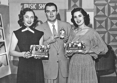 The Paul Dixon Show with Wanda Lewis and Dotty Mack, WCPO-TV, Promoting Bavarian's Beer, incinnati, OH.  c.1952