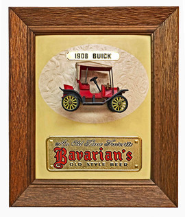 Bavarian's Old Style Beer with 1908 Buick, Covington, KY