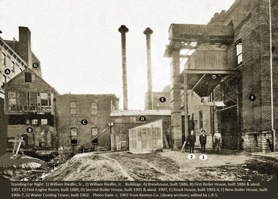 Boiler House, Bavarian Brewing Co., Covington, KY  c. 1908
