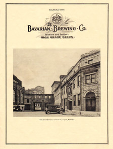 Bavarian Brewing Co. Stock Offering 1933 - Cover
