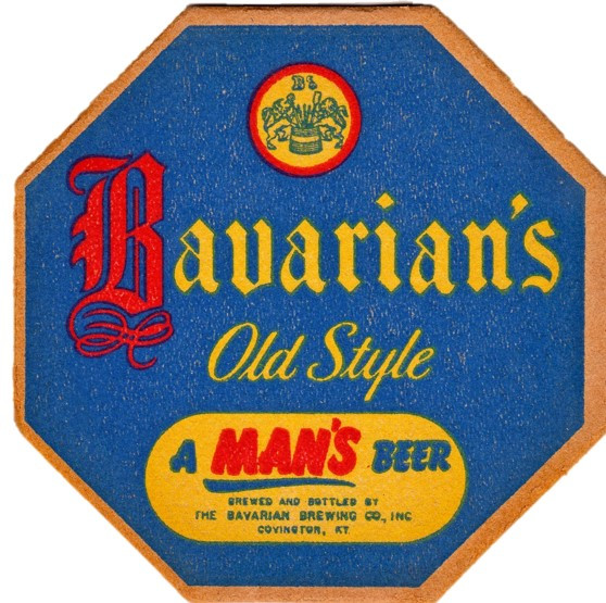 Bavarian Sm Coaster A Mans Beer Blue.jpg