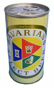 Bavarian's Pull Top Iroquois Brew. Buffa