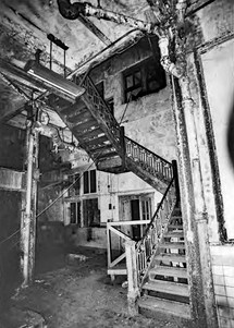 Bavarian Brewing Co. Interior Staircase