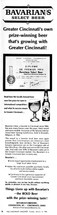 Ad for Bavarian/s Select Beer Winning First Place in International Competition.