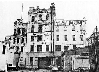 Bavarian Brewery Before Renovation in 1995, Covington, KY