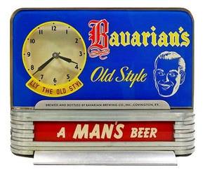 Bavarians OS Cash Register Clock 1940s 1