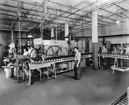 Bottling Department, Bavarian Brewing Co., Covington, KY 1940s
