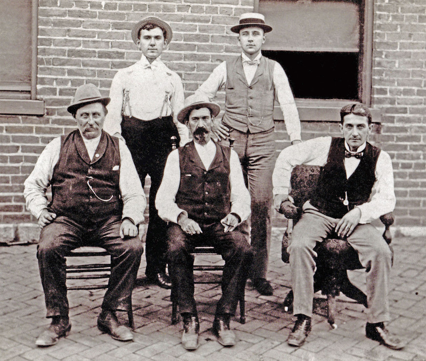 Officers of the Bavarian Brewing Co., Covington, KY. 1899.