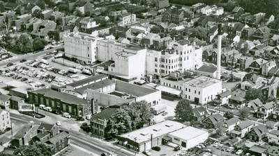 The Bavarian Brewery Complex, c. 1955.