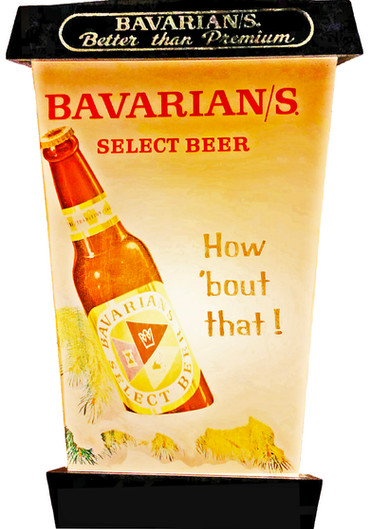 Bavarian/s Select Beer Lantern by IBI; Bottle Side.